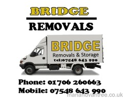 Bridge Removals Man and Van Services in Rossendale