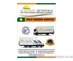 Sunlight Removals ltd,Man and Van,we Move anything anytime anywhere