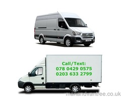 MAN AND VAN 24HRS REMOVALS VAN HIRE HOUSE MOVE OFFICE/STORAGE MOVE