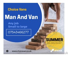 MAN AND VAN SERVICE - House moves, student moves, flat moves