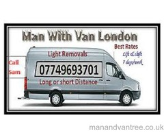 London Man with Van - Removal and Courier Services | UK and European | Long/Short Distance