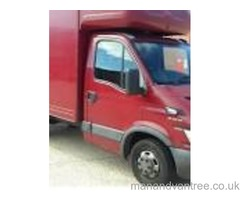 Man and Van for Hire, Large Luton, Merseyside based Distance no Object
