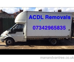 ACDL Removals&Deliveries - Man with van/house removals