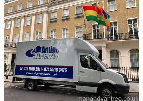 Man and a Luton van services in south east London from £20 per hour