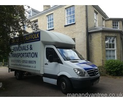 NORFOLK SUFFOLK MAN AND VAN REMOVALS TRANSPORT LOWESTOFT BECCLES YARMOUTH NORWICH