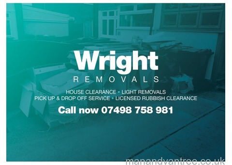 Wright Removals (MAN with a VAN service) Birmingham