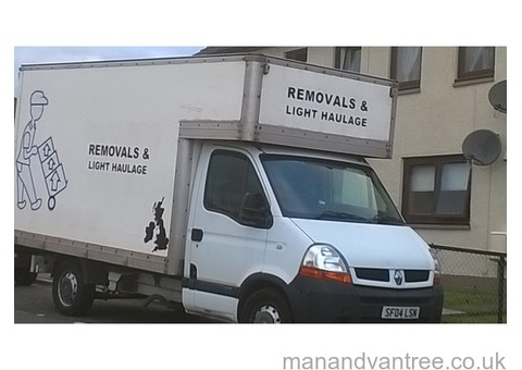 Call Brian, man and van services Angus, removals, available 7 days a week