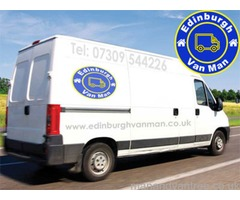 Edinburgh Van Man | Man With A Van Removals | ☎ 07309 544226