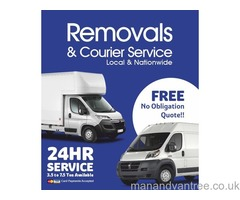 CHEAP MAN AND VAN HIRE REMOVALS & COURIER SERVICES