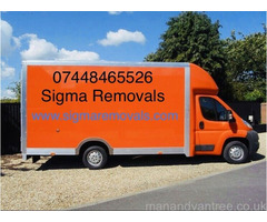 Last Minute Man And Van Removals Services Domestic Office house Flat Moving London