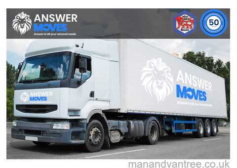 Answer Moves - Removals Company Hampshire - Office Removals