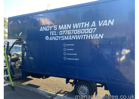 Man with a van and removals Bridgwater. Somerset's best value removals company.