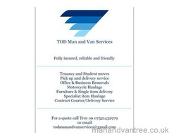 TOD Man and Van Services, Chester