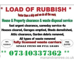 RUBBISH CLEARANCE HOUSE GARAGE GARDEN PROBATE OFFICE SHOP SKIP HIRE WASTE READING ASCOT BERKSHIRE