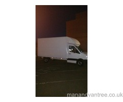 Man and Luton van transport Glasgow Maryhill