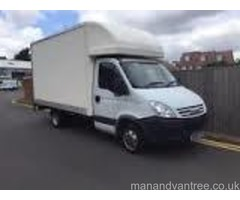 Man and van removals Salford Quays Media City Manchester centre etc