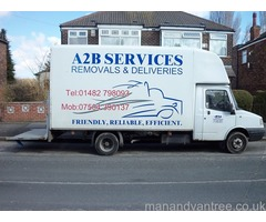 DOMESTIC REMOVALS & DELIVERIES (2 MAN CREW) I N HULL & 30 MILE RADIUS