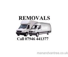 Man & Van Hire Dosmestic and Business Removals Courier Service London