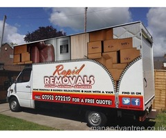 Cardiff Removals - Affordable & Experienced Home Movers and Man with a Luton Van Services