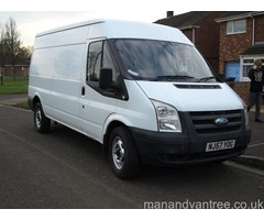 Man and Van Taunton collections and deliveries