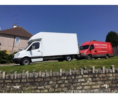 REMOVALS SERVICE-24/7-WE USE LUTON VAN WITH TAIL LIFT MAN AND VAN Plymouth ALWAYS GOOD RATES
