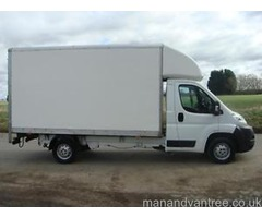 Man with a Big Van Nantwich & Crewe Odd Items moved