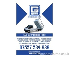 Man and van house removals office clearance Camden London