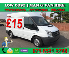 CHEAP MAN WITH VAN HIRE LONDON HARROW - HOUSE/FLAT◦COLLECTION◦DELIVERY◦MOTORBIKE RECOVERY