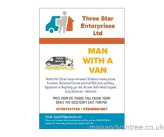 Man With The Van Ellesmere Port Cheshire