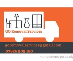 Van and driver, full house, office, garage removals Single items