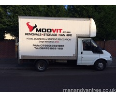 Moovit Man and van Coventry