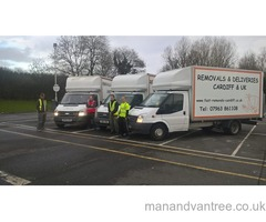 Man and van removals Cardiff