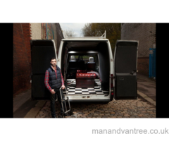 Manchester van hire with English driver