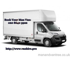 Man and van Hire Services for Kingston