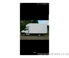 Man with a white van for hire and House Removals, Delivery, Home Courier 24 / 7 Handyman services