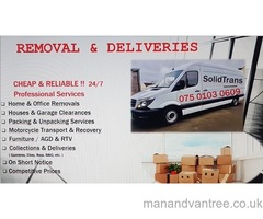 WEST MIDLANDS TO LONDON MAN VAN HOUSE OFFICE REMOVAL DELIVERY SHREWSBURY TELFORD