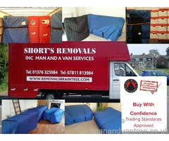 Shorts Removals and Storage based in Braintree Essex