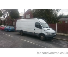 Man and van removals and house clearance services Denbigh Chester North Wales