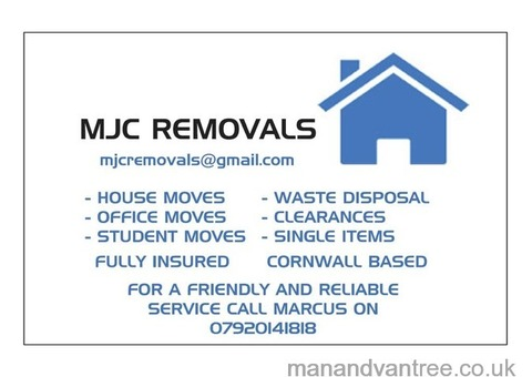 MJC Removals - St Austell Cornwall based removal service