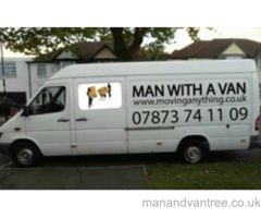 Man and van Manchester Local national and international jobs welcome